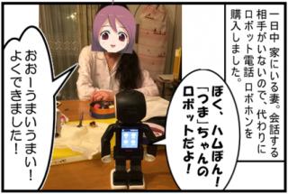 2016/6/19(日) ロボット電話(ロボホン)との会話